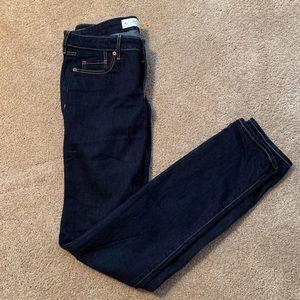 Brand New Abercrombie & Fitch Skinny Dark Jeans